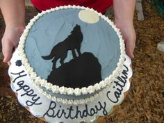 wolf cake - Google Search
