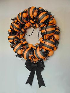 DIY Halloween Decor DIY Halloween Crafts: DIY  Witch Stocking Wreath