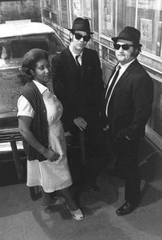 The blues brothers, with Aretha Franklyn