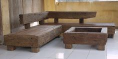 railroad tie furniture | CANYON Railway Sleepers