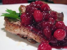 Slipping #cranberries into your diet. Get these #antioxidant powerhouses into your life: Pair cranberries with chicken and #pork dishes.