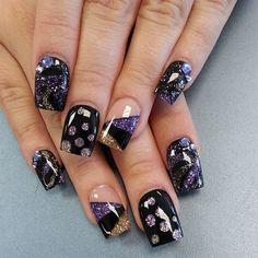The Aftermath - Up Close & Personal by the nail boss    #nailart #nails #Naildesign