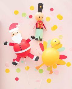 Thanksgiving Parade Balloon Centerpiece | Oh Happy Day!