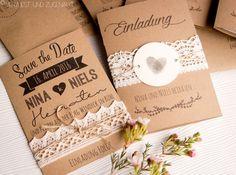 Unsere Hochzeit stand ganz im Motto Kraftpapier und Spitze. Und die Einladungen und Save the Dates waren natürlich selbst gebastelt. Das Design habe ich mit vielen vielen Schriftarten selbst entworfen. Und genau die Vorlage könnt ihr nun herunterladen. Auf meinem … weiterlesen