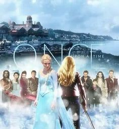 The awesome cast of #Once on an awesome square poster for awesome #Once #S4 #OnceIsFrozen