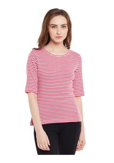 482d8e98657 Printed Basic Striper Top -Fulpy Social Shopping | Share, Discover and Buy  Handpicked Products