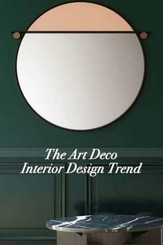 Replete with geometric patterns, luxurious fabrics, and flecks of gleaming gold, design's Art Deco trend shows no sign of losing its luster. Decor Interior Design, Interior Decorating, Art Deco Mirror, Curtain Material, Art Deco Furniture, Metal Beds, Art Deco Design, Interiores Design, Design Projects