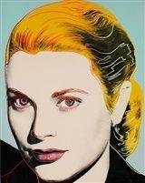 Grace Kelly by Andy Warhol