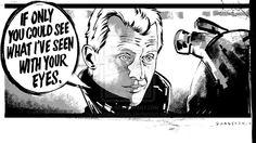 Roy Batty of Blade Runner by Tony Shasteen by AshcanAllstars.deviantart.com on @deviantART