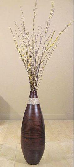 111 Best Floor Tall Vases Arrangement Images On Pinterest Flower