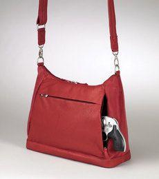 Gun Tote'n Mamas Hobo Concealed Carry Holtser Handbag #femmefatalearms  #concealedcarry www.femmefatalearms.com