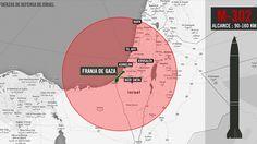 Israel crea polémica al publicar mapas de Argentina, México,España,Uruguay,Costa Rica,Francia,Nicaragua,Reino Unido,Brasil,EE.UU y otros como blanco de misiles.