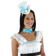 Alice in Wonderland - Alice Hat and Collar Set Adult Deals on - Alexanders Hat Collar Puritan Set Coupons,