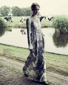 visual optimism; fashion editorials, shows, campaigns & more!: church is out: queeny van der zande by paul bellaart for l'officiel nl september 2013
