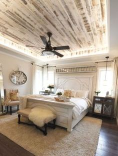 23 Awesome Rustic Farmhouse Bedroom Decor Ideas