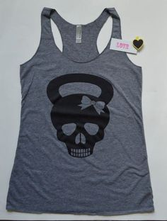 CrossFit Kettlbell Skull Workout Tank