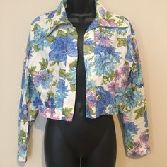 Perfect for spring!!! VINTAGE Jacket, Flowers, Vintage Blazer, George Gerring MIAMI, Sequin Jacket, Glitter Fashion, Womens Medium, Vintage Floral Print , A personal favorite from my #Etsy shop https://www.etsy.com/listing/162753689/vintage-jacket-flowers-vintage-blazer