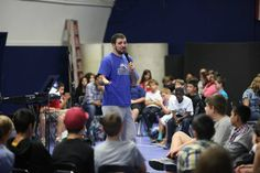 Monte Vista Christian Middle School chapel with Jack Wilkins