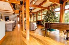 Rift & Quarter Sawn White Oak Flooring - Mill Direct Oak Flooring, Wide Plank Flooring, Saw Wood, Quarter Sawn White Oak, Wood Floor Kitchen, White Oak Floors, Usa, Christmas, Furniture