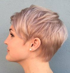 Short hair is really in right now, especially with the heat of summer coming out in full power! Chop off those locks and indulge in one of these pretty short haircuts for women. Platinum Undercut: Platinum Pixie Haircut with Straight Hair Platinum is a standout shade that's sure to get you noticed, but what really …