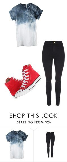 """Untitled #456"" by austynh on Polyvore featuring Jane Norman and Converse"