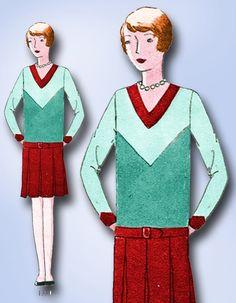 1920s Original Lovely Unused Junior Girls Flapper Dress Pattern | eBay