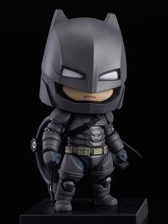 Nendoroid Batman: Justice Edition Series Batman v Superman: Dawn of Justice Manufacturer Good Smile Company Category Nendoroid Price ¥4,167 (Before Tax) Release Date 2016/09 Specifications Painted ABS&PVC non-scale articulated figure with stand included. Approximately 100mm in height. Sculptor K2b Cooperation Nendoron