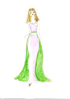 Lady. Fashion. Women. Illustration: Gillian Didham