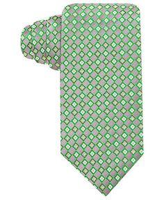 Geoffrey Beene Tie, Char 7 Neat - Ties - Men - Macy's