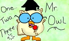 How Many Licks Does It Take To Get To The Center of a Tootsie Pop? LOVED this commercial