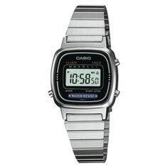 2c887f99eeb Casio Women s Digital Watch - Silver target Relogio Feminino Prata