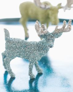 Glitter Animals - http://www.sweetpaulmag.com/crafts/glitter-animals #sweetpaul