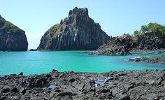 Baía dos Porcos - Fernando de Noronha, Brasil.