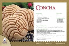 Shell recipe – Famous Last Words Mexican Bakery, Mexican Pastries, Mexican Sweet Breads, Mexican Bread, Mexican Dishes, Mexican Kitchens, Conchas Recipe, Traditional Mexican Food, Italian Cream Cakes