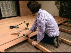 Drevená terasa - montáž drevenej terasy Landsman-Wolfcraft - VIDEO Ako sa to robí.sk