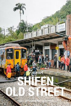 Shifen Old Street was built to transport coal but now it's become a popular tourist stop for both local and international visitors. Both sides of the railway are filled with quaint souvenir shops, street food, local products, restaurants and offerings to light your own sky lantern.