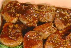 Pork Medallions with Balsamic-Honey Glaze from FoodNetwork.com