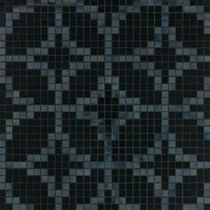 #Bisazza #Decori 2x2 cm Etoiles Nero | #Porcelain stoneware | on #bathroom39.com at 755 Euro/box | #mosaic #bathroom #kitchen