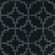 #Bisazza #Decori 2x2 cm Etoiles Nero | #Porcelain stoneware | on #bathroom39.com at 755 Euro/box | #mosaic #bathroom #kitchen