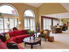 Love the open floor plan! Room, How To Plan, Open Floor Plan, Floor Plans, Condos For Sale, Large Living Room, Flooring, Condo