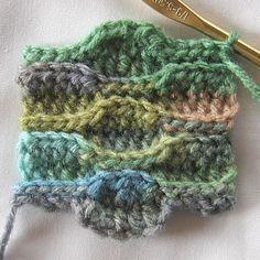 Crochet Wave Stitch - Tutorial ❥ 4U // hf