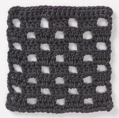Stitchfinder : Crochet Stitch: Checkerboard : Frequently-Asked Questions (FAQ) about Knitting and Crochet : Lion Brand Yarn