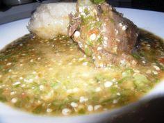 Sauce Gombo à la viande de Biche