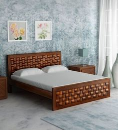 Are you searching for the best wooden bed designs in the market ? Then here are our 10 simple and best wooden bed designs in india. Double Bed Designs, Wooden Bed Design, Modern Wooden Bed, Bedroom Furniture Design, Bed Designs With Storage, Bed Design, Bed Design Modern, Bedroom Bed Design, Wooden Sofa Designs