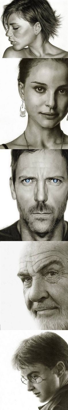 Drawn using pencil- this is amazing!  By  RANDY ATWOOD- Check out more of his work at http://randy-man.deviantart.com/