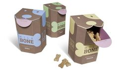 dog packaging | pet treats packaging | dog bone | graphic design
