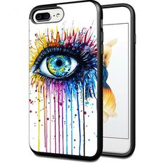 iPhone 7 plus Case Cool Eye watercolor art Picture Cellph…