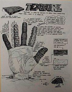 Texture Hand Worksheet | Flickr - Photo Sharing!