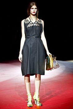 Miu Miu Spring 2011 Ready-to-Wear Fashion Show - Kendra Spears