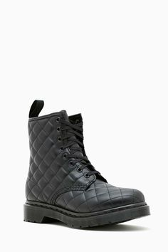 Martens Coralie 8 Eye Boot in What's New at Nasty Gal Want to wear instead of military's! Sock Shoes, Shoes Heels Boots, Heeled Boots, Bootie Boots, Doc Martens Boots, Dr. Martens, I Love My Shoes, Me Too Shoes, Boot Scootin Boogie